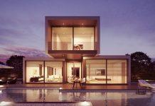 Architektur Luxushaus
