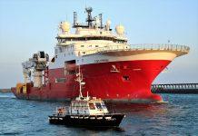 Frachtschiff Offshore