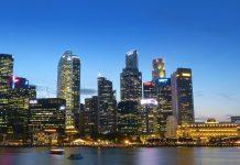 Finanzzentrum Singapur
